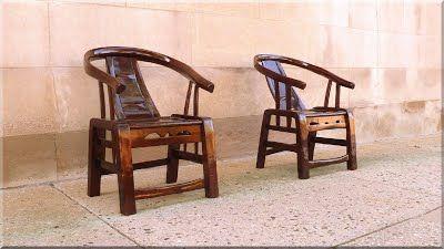 Antik fa székek