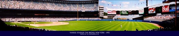 Old Yankee Stadium - 1993. Taking in a Yankees vs Seattle game.