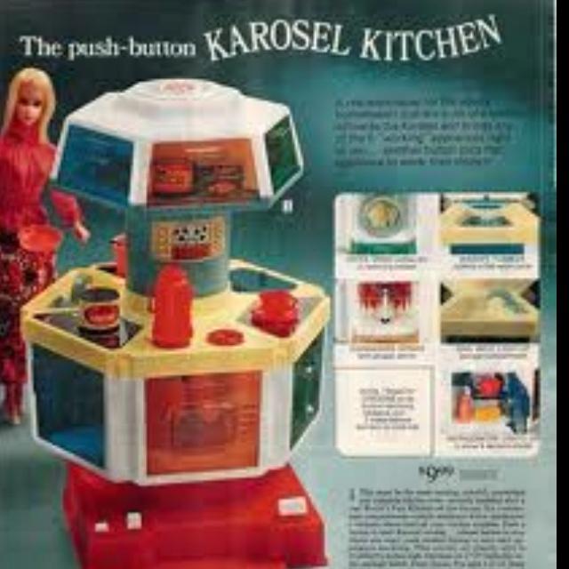 Barbie Carousel Kitchen.