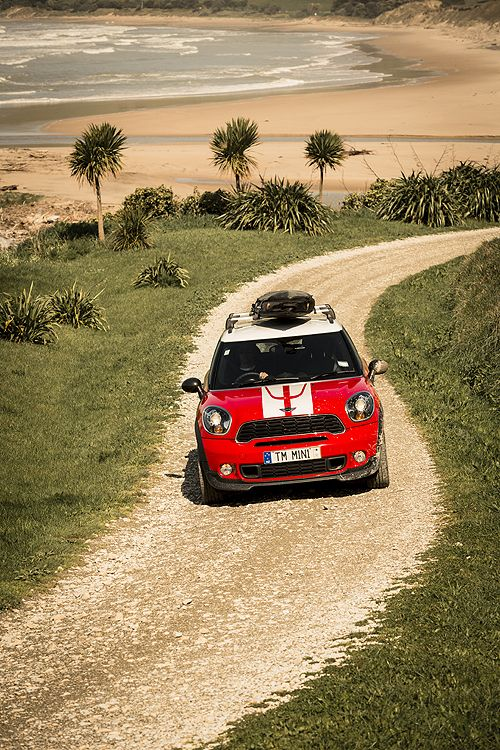 Sun Sea Sand Mini Countryman Takes New Zealand Mini Mini