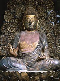 盧舎那仏坐像 唐招提寺金堂