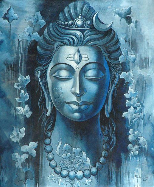 The Mighty Shiva by Madhusudhan (Kolkata)