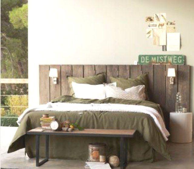 IDEE DECO. Je suis en pleine réflexion sur la déco de ma chambre, alors je cherche des idées à droite, à gauche. J'ai un mur blanc en guise de tête de lit quej'aimerais habillerpour rendre ma chambre plus nature et douillette. Attirée par le bois et son apparence brute, voici une