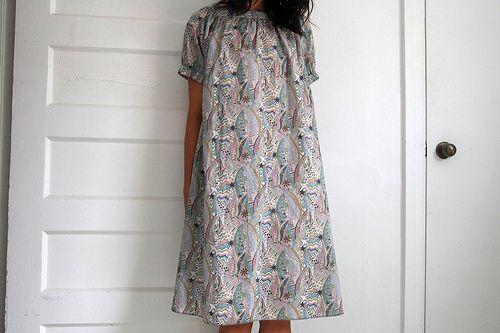 Liberty of London Summer Challenge : Project 4 Stylish Dress Book 2 : Dress