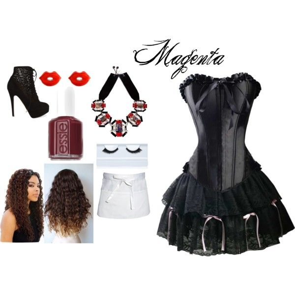 17 Best Images About Rocky Horror On Pinterest | Magenta Costume Halloween Costumes And Corsets
