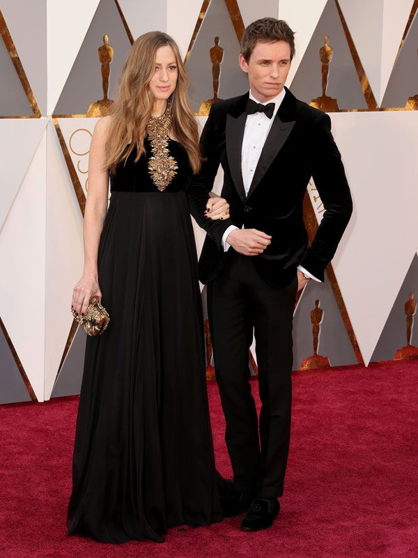 Eddie Redmayne Walks the Red Carpet with His Leading Lady – Pregnant WifeHannah http://celebritybabies.people.com/2016/02/28/oscars-2016-eddie-redmayne-wife-hannah-pregnant-red-carpet/