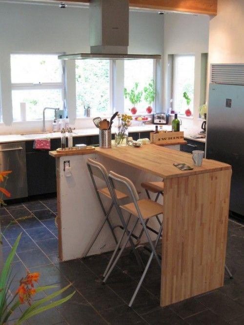 DIY îlot de cuisine moderne IKEA 1