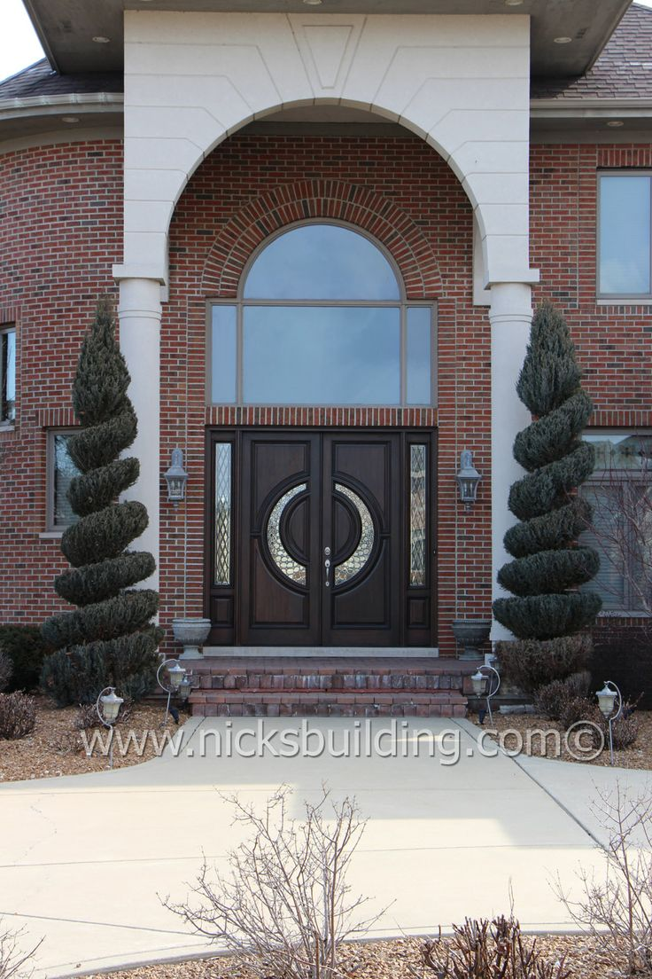 Elegant Entrance This Front Door Truly Sets The Feel Of