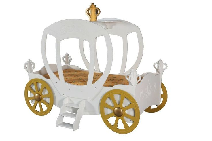 Details zu Kinderzimmer Bett Kinderbett PRINCESS CARRIAGE