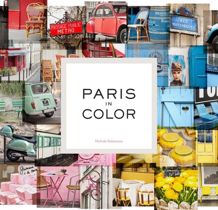 Paris In Color - Amazing coffee table book.