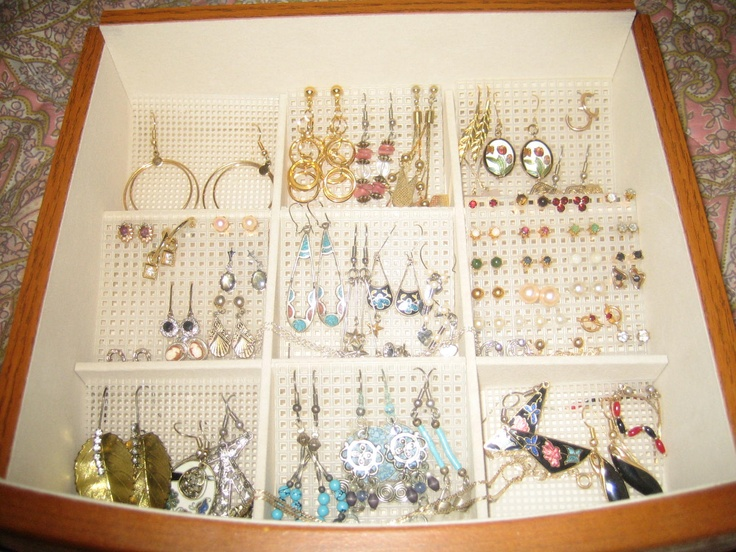 25+ unique Organizing earrings ideas on Pinterest | DIY ...