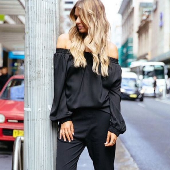 WE LOVE | Elle Ferguson from @theyallhateus in new MLM, the 'Align Off The Shoulder Top' now $139 & available at The_Edit!  http://theeditonline.com.au/product/mlm-align-off-the-shoulder-top/  #elleferguson #theyallhateus #mlmlabel