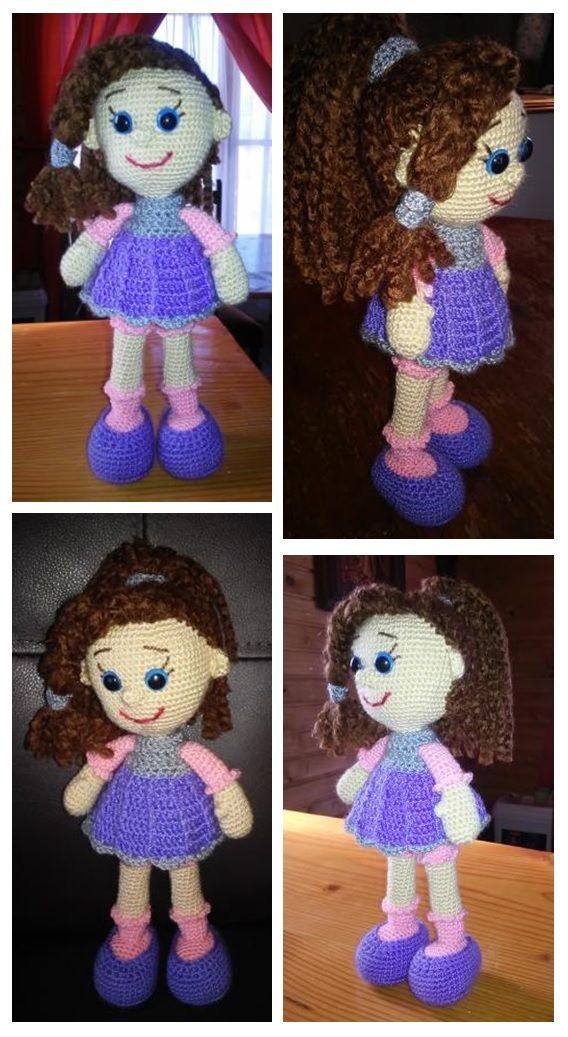 Muñequita Candy, patrón descargado desde internet