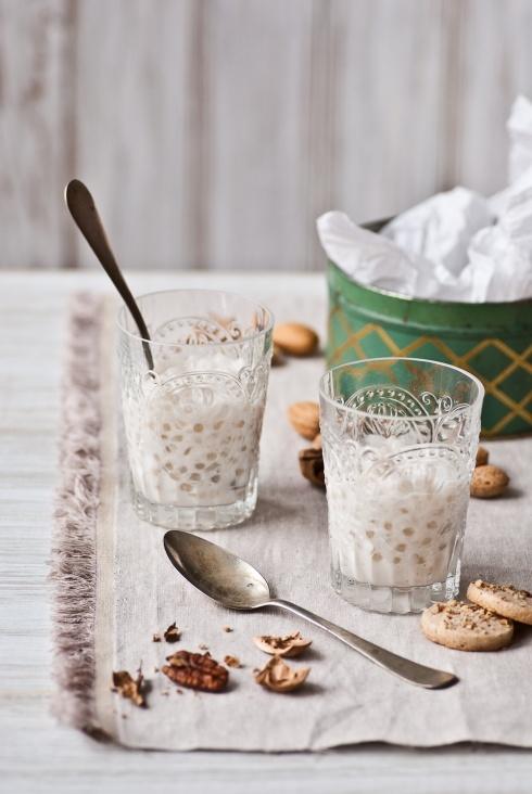 Coconut Tapioca puddingCoconut Tapioca, Eggs Free, Tapioca Puddings, Pecans Cookies, Vanilla Extract, Coconut Milk, Sea Salts, Dairy Free Desserts, Nut Free
