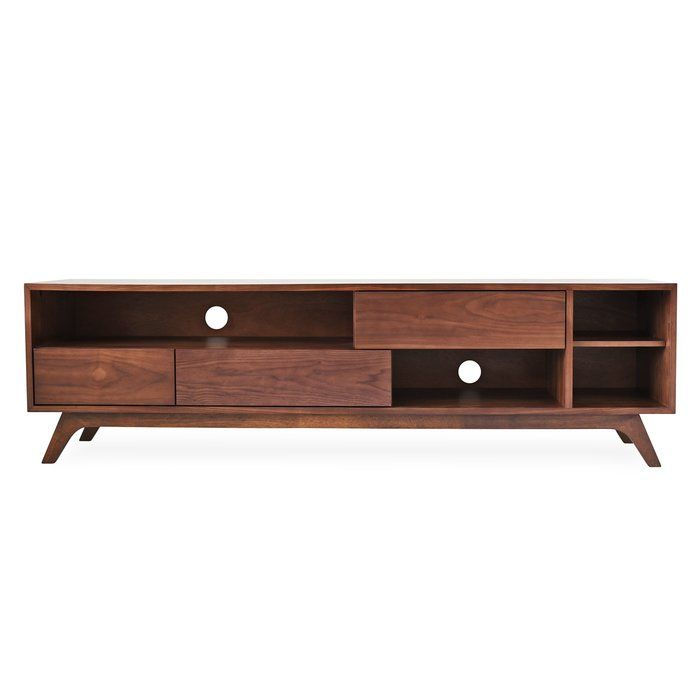 Allen Tv Stand For Tvs Up To 75 Mid Century Modern Tv Stand Modern Tv Stand Modern Tv