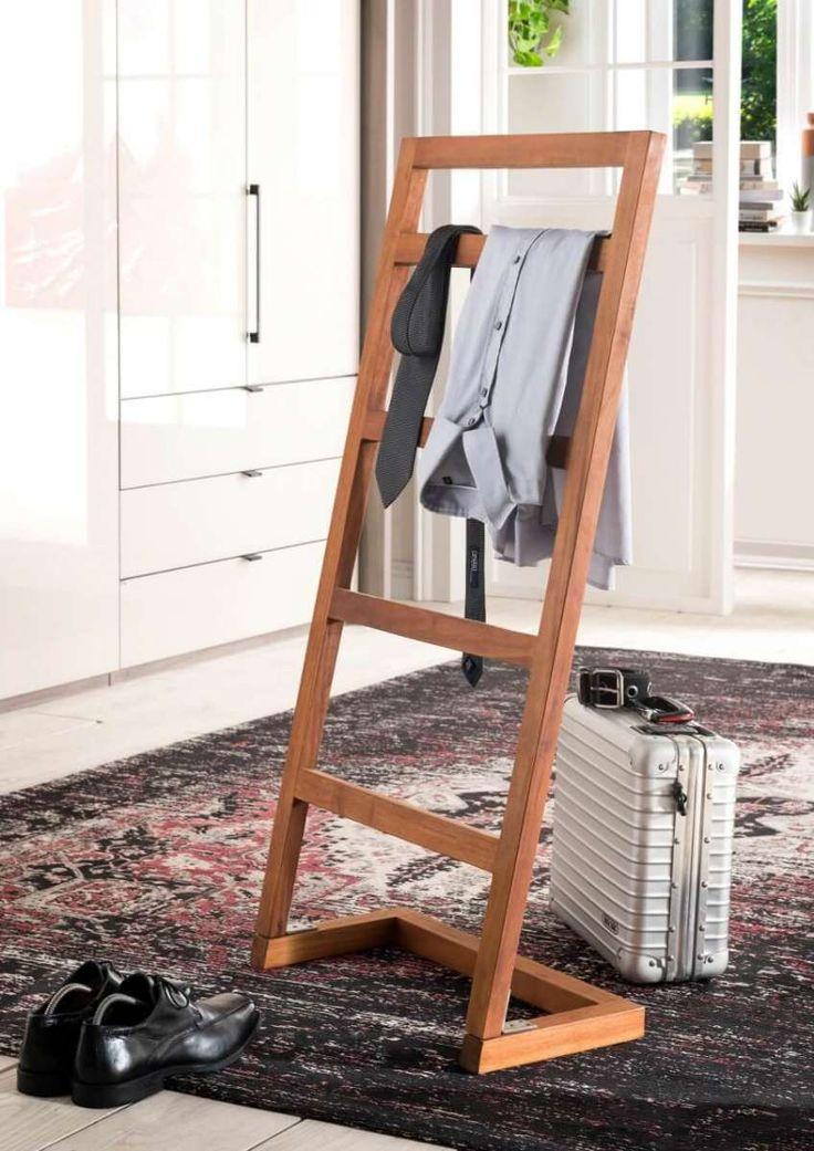 Handtuchhalter stiller Diener Holz