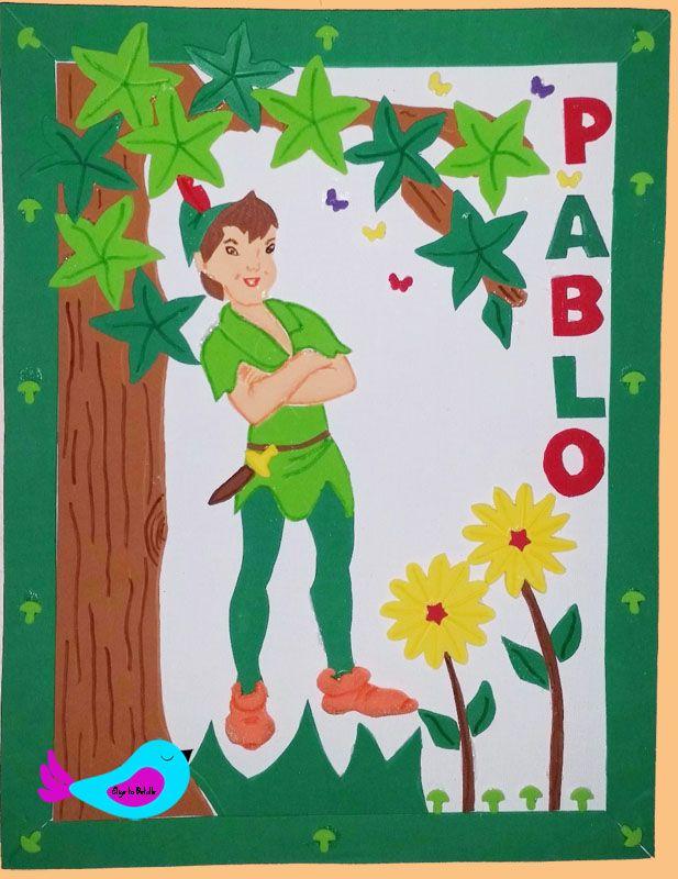 Decoración: Cuadro Peter Pan