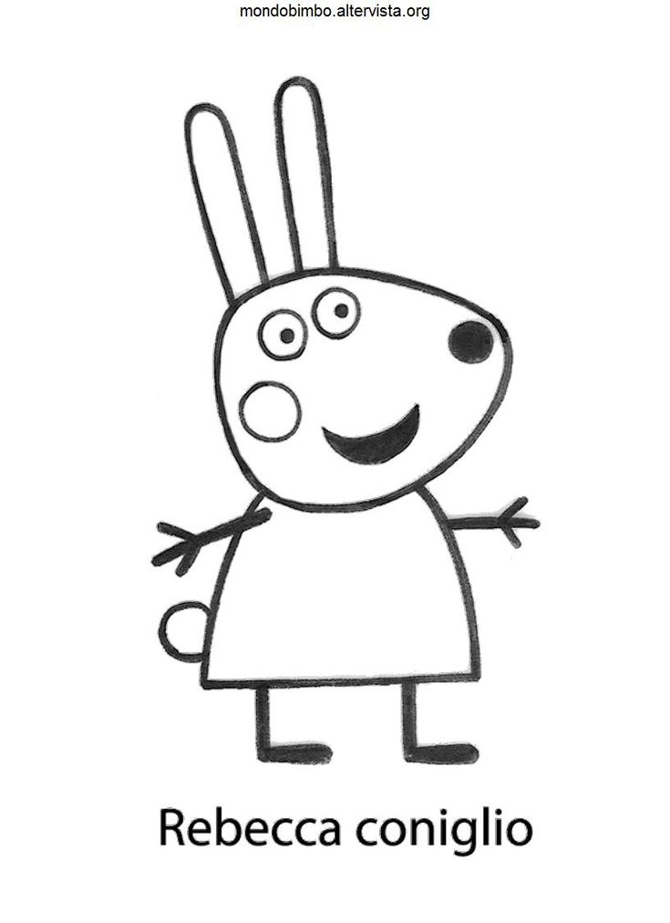 45 best Peppa Pig Coloring Book Coloring Pages images on Pinterest - new free coloring pages for peppa pig