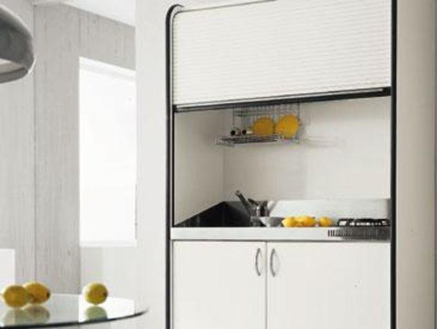 Minikeuken met rolluik kl inspiratie keuken pinterest see best ideas about keuken and met - Onderwerp deco design keuken ...