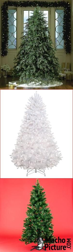 Cheap artificial christmas tree - 4 PHOTO!