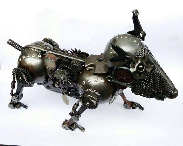 """Riek,s Mohane Studio: Bullterrier """"Si Tompel"""""""