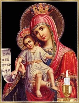 Fé e Atitude: GIFS RELIGIOSOS NOSSA SENHORA COM MENINO JESUS 135