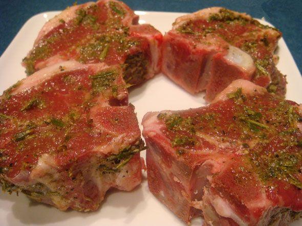 Lamb Loin Chops. Amazing! Keep this recipe!