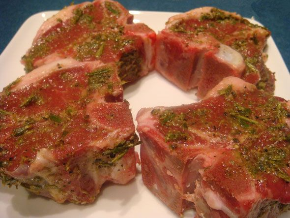 Lamb Loin Chops. Amazing! Keep this recipe!
