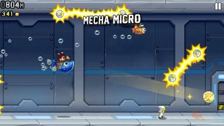 #JetpackJoyride Mecha Micro