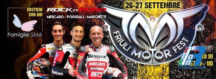 Friuli Motor Fest, tutti in pista per beneficienza il 26 e 27 settembre http://www.italiaonroad.it/2015/09/20/friuli-motor-fest-tutti-in-pista-per-beneficienza-il-26-e-27-settembre/