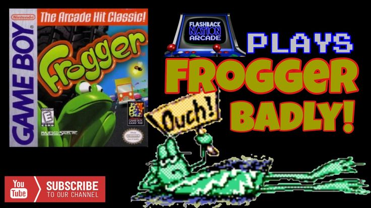 Playing Frogger Badly (Game Boy Color)