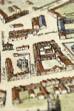 Historic maps at Cambridge University Library chart the changes and growth of the City and University of Cambridge.