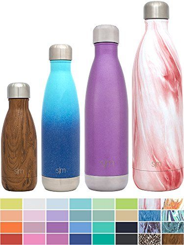 Simple Modern 34oz Wave Water Bottle - 1 Liter Vacuum Insulated Double Wall 18/8 Stainless Steel Hydro Swell Flask - Concept Collection - Primrose Marble. For product & price info go to:  https://all4hiking.com/products/simple-modern-34oz-wave-water-bottle-1-liter-vacuum-insulated-double-wall-18-8-stainless-steel-hydro-swell-flask-concept-collection-primrose-marble/