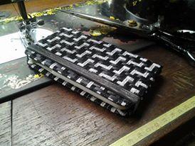 ribbon weaving, cellphone cover