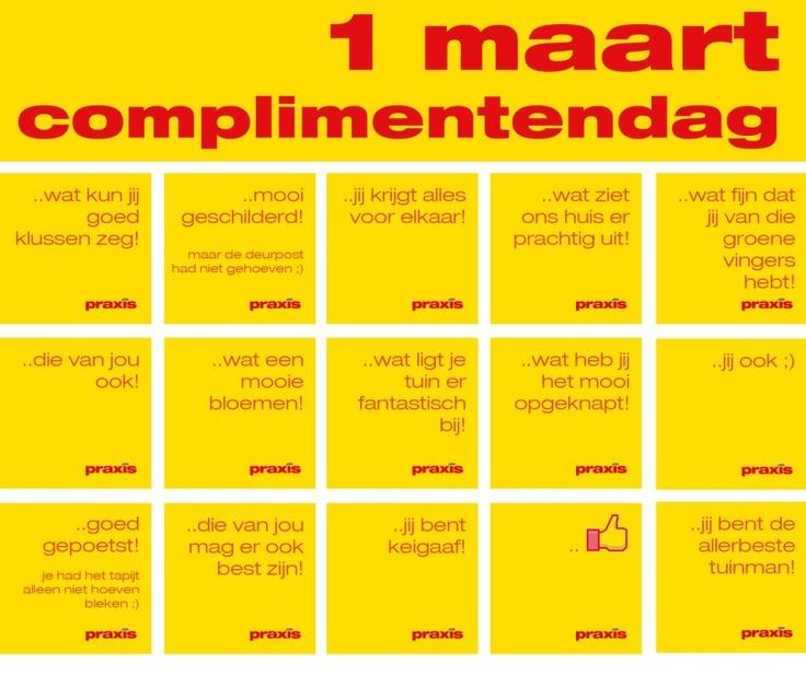 Tag een vriend in deze foto en geef een compliment op complimentendag :) // Complimentendag // Praxis