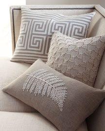 ○ neutral home nirvana ○  throw pillows