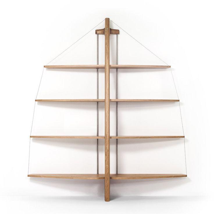 Librerie uniche e design innovativo grazie ai prodotti di interior design di Qucina.