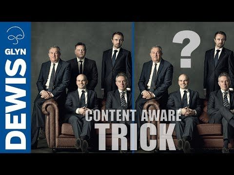 QUICK TRICK for BEST Results with Content Aware in Photoshop #113 - YouTube