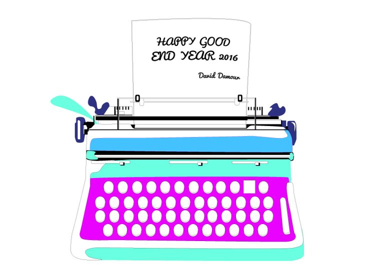 Happy End Year 2016 by David Damour