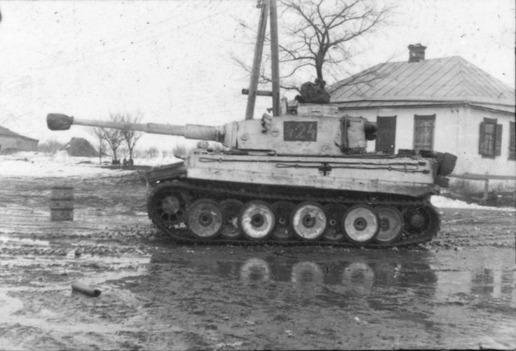 Tiger Tank from 1st SS Panzer Division Leibstandarte SS ...