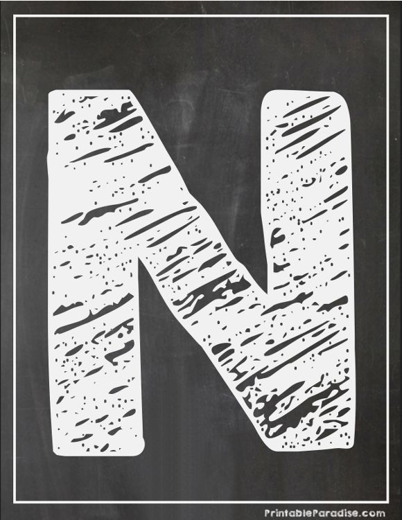 Juicy image in printable chalkboard letters