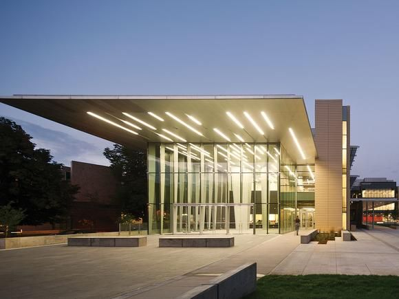 15 best building entrance canopy lighting images on for Modern building canopy design
