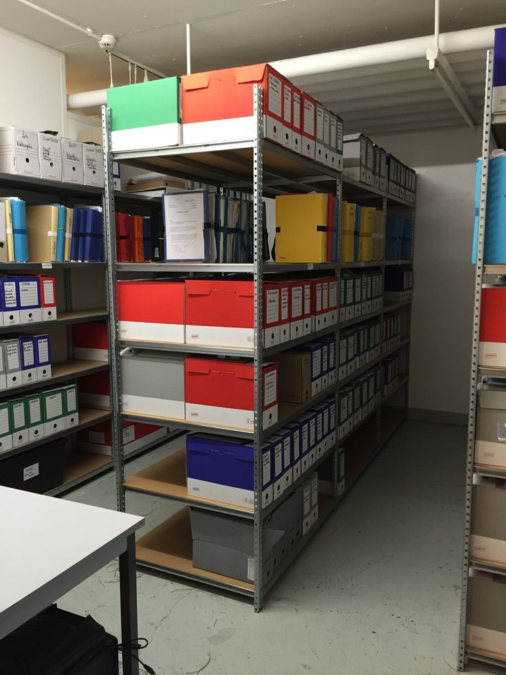 local archives APRES  - Oct 2015 #officeorganiser #archivage #rayonnage #bypauline