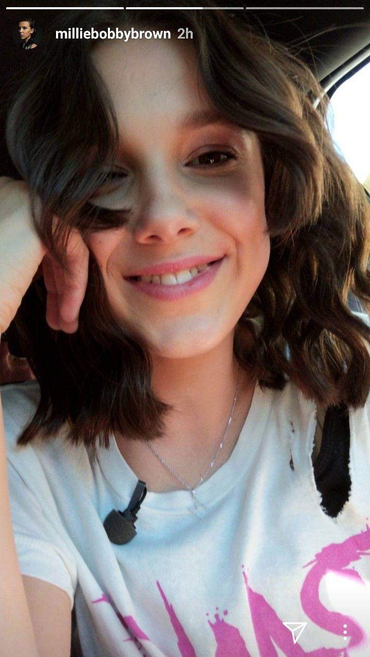 Millie looks better with short hair but i like this pic | Stranger
