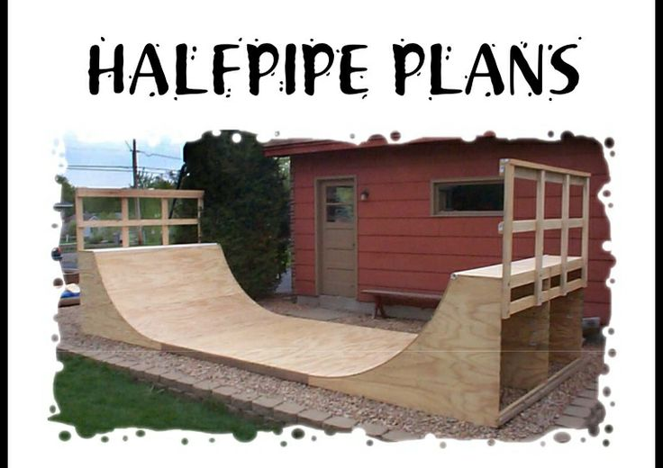 How To Build A Halfpipe In Your Backyard 28 Images