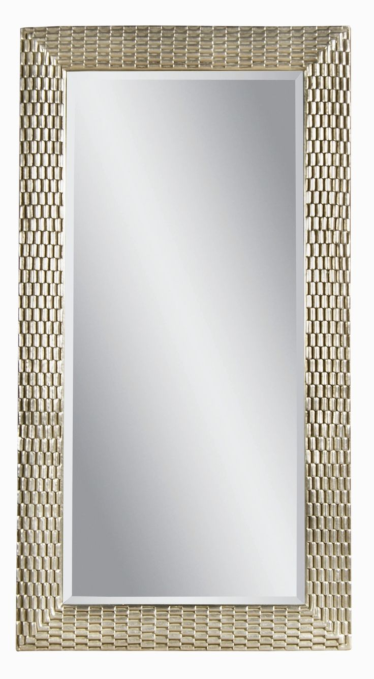 Bassett mirror 80 h x 43 w sazerac leaner mirror for Leaner mirror