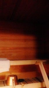 Nordic Adventures log cabin at Kemijärvi
