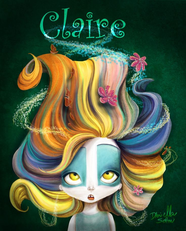 #Claire #Character #Design; #Colors; #seasons: #Illustration; #Cute; #Kids