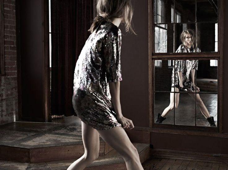 metals: Karlie Kloss Hedi Slimane, Style, Editorial, Dress, February 2012, Beauty, Fashion Photography, Vogue Japan
