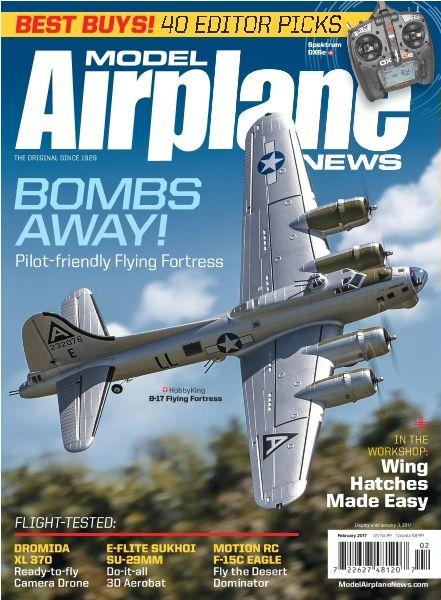 Model Airplane News - February 2017